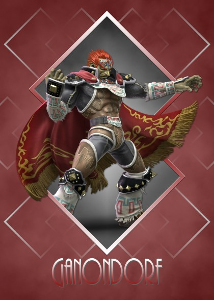 Super Smash Bros Ultimate Zelda Ganondorf