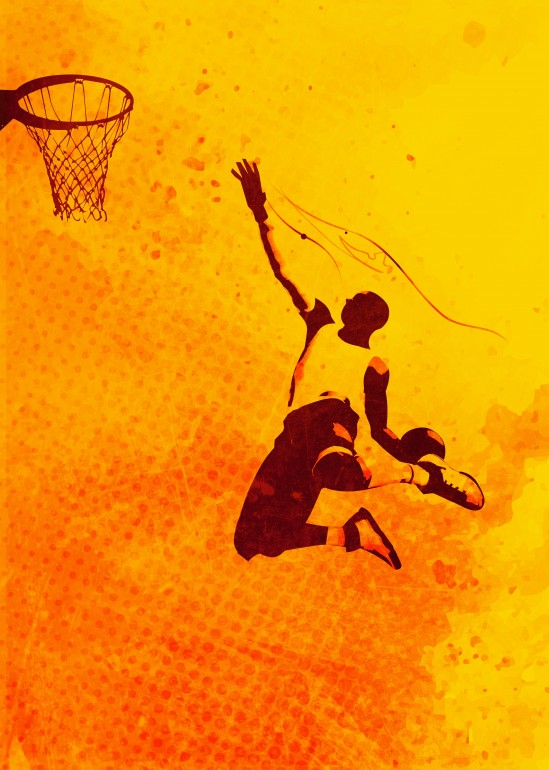 Heat of Basketball#1, basketball, sport, heat, red, yellow, ball, game, play