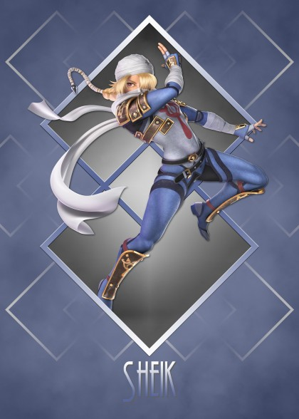 Super Smash Bros Ultimate Zelda Sheik
