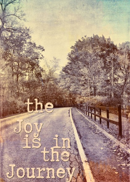 The Joy Is In The Journey