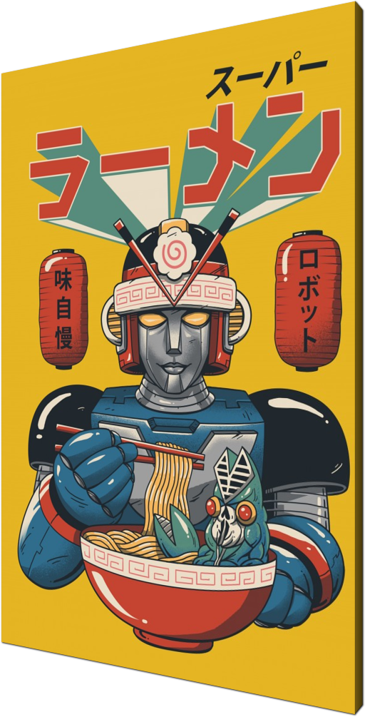 Super Ramen Bot, ramen, food, foodies, robot, robots, bot, bots, super bot, cute, cool, Japan, Japanese, sentai, anime, manga, tokyo