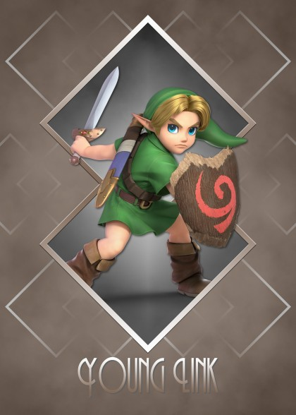 Super Smash Bros Ultimate Zelda Young Link