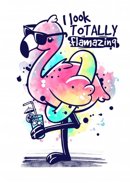 Flamazing flamingo