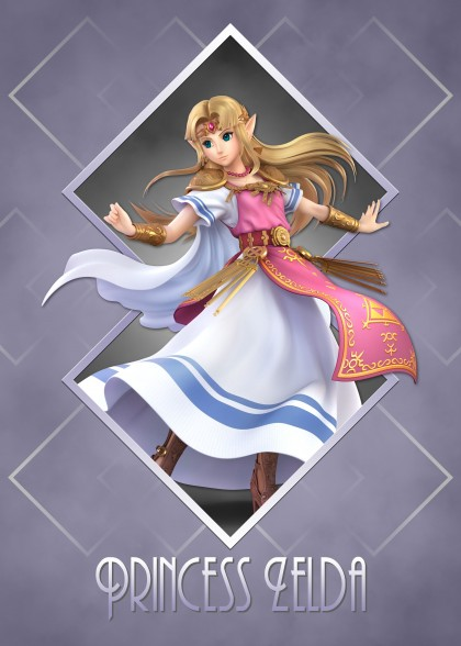 Super Smash Bros Ultimate Zelda Princess Zelda