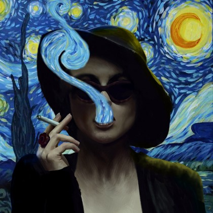 Marla Singer & Starry Night