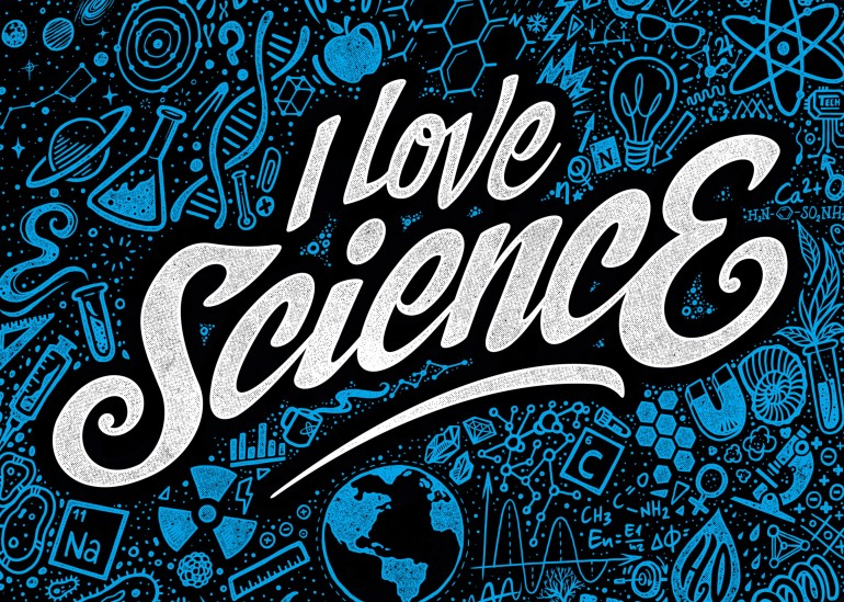 I Love Science, science, love, nerd, sci-fi, alchemist, math, chemistry, biology, physical, technology, astrology