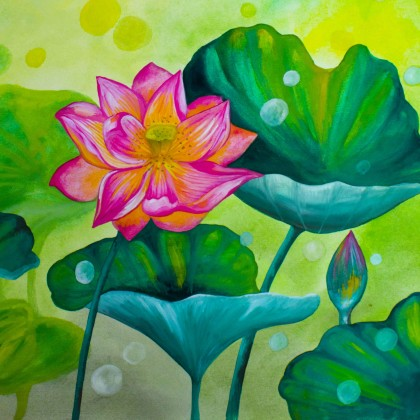 The water lilly