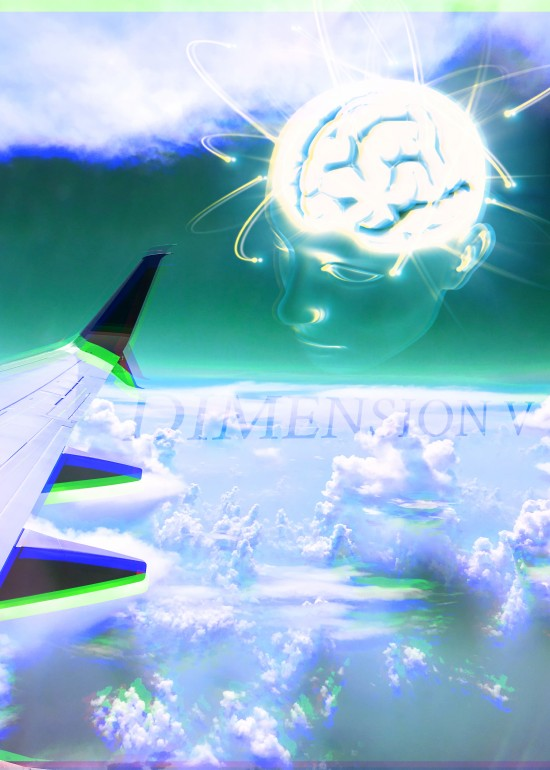 FIFTH DIMENSION, Trippy, airplane, sky, clouds, spiritual