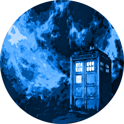 Blue Time in Space