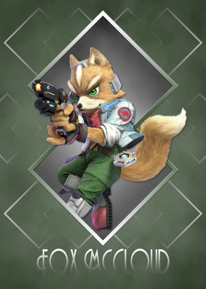 Super Smash Bros Ultimate Star Fox McCloud