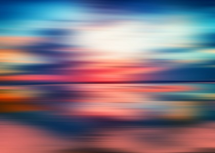 Abstract Sunset VI