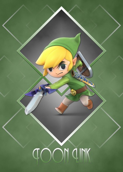 Super Smash Bros Ultimate Zelda Toon Link