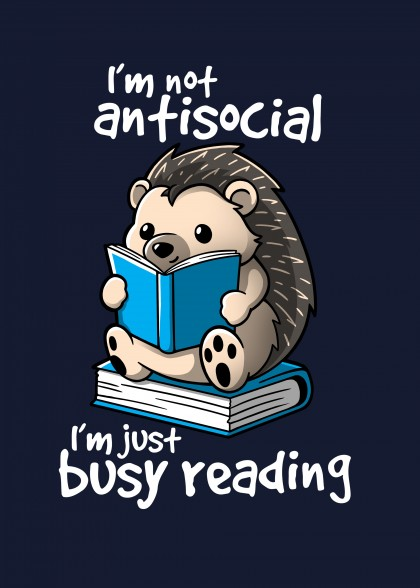 Antisocial hedgehog