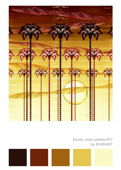 EXOTIC COLOR PALETTE #17